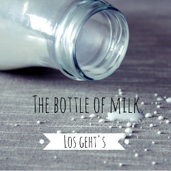 The Bottle of milk