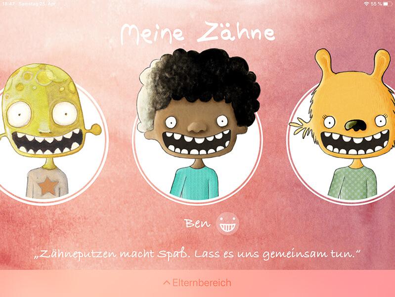 Zahnputz-App für Kinder